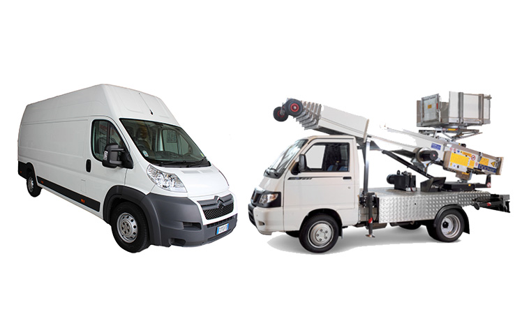furgoni e autoscale